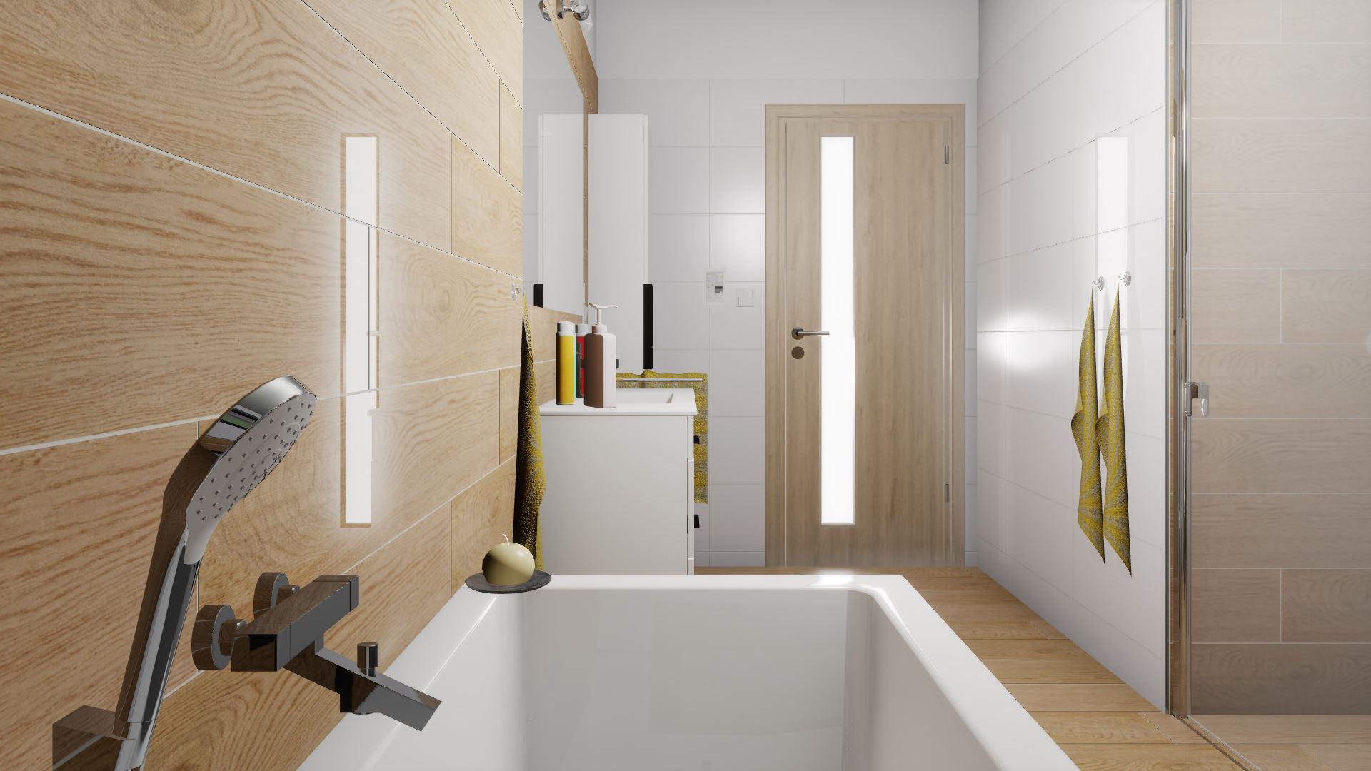 Dětská koupelna a přilehlé WC - Obrázek č. 1