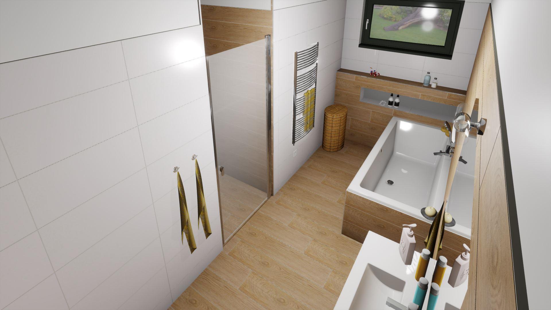 Dětská koupelna a přilehlé WC - Obrázek č. 2