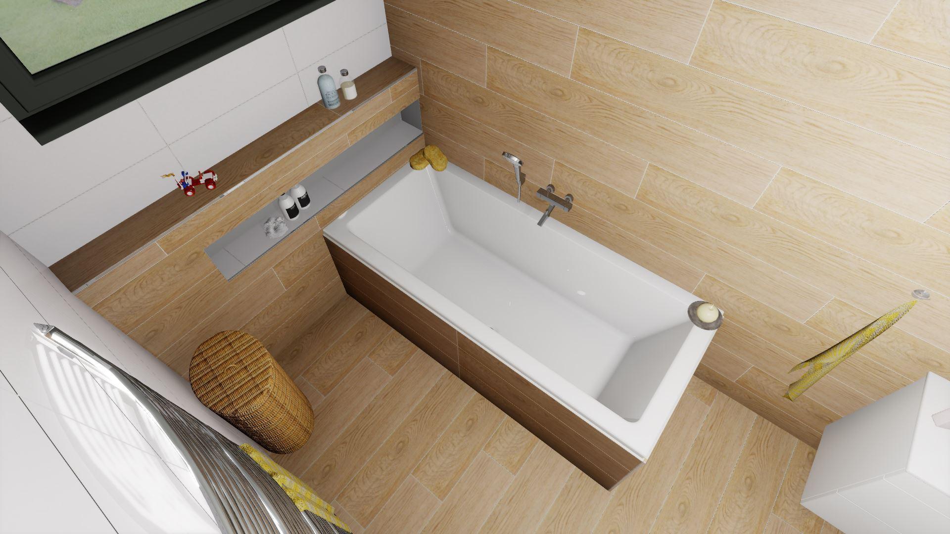Dětská koupelna a přilehlé WC - Obrázek č. 4