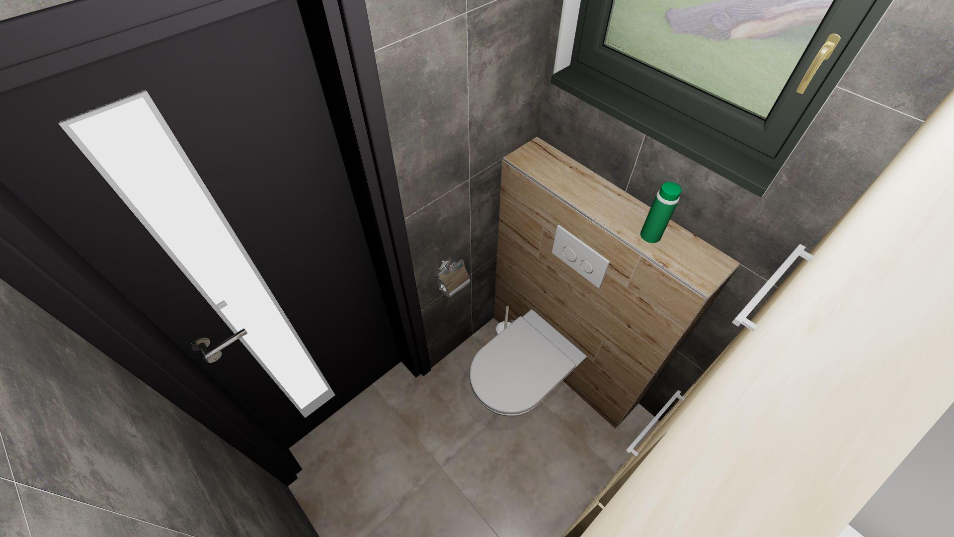 Komora/prádelna + soukromé WC rodičů - Obrázek č. 2