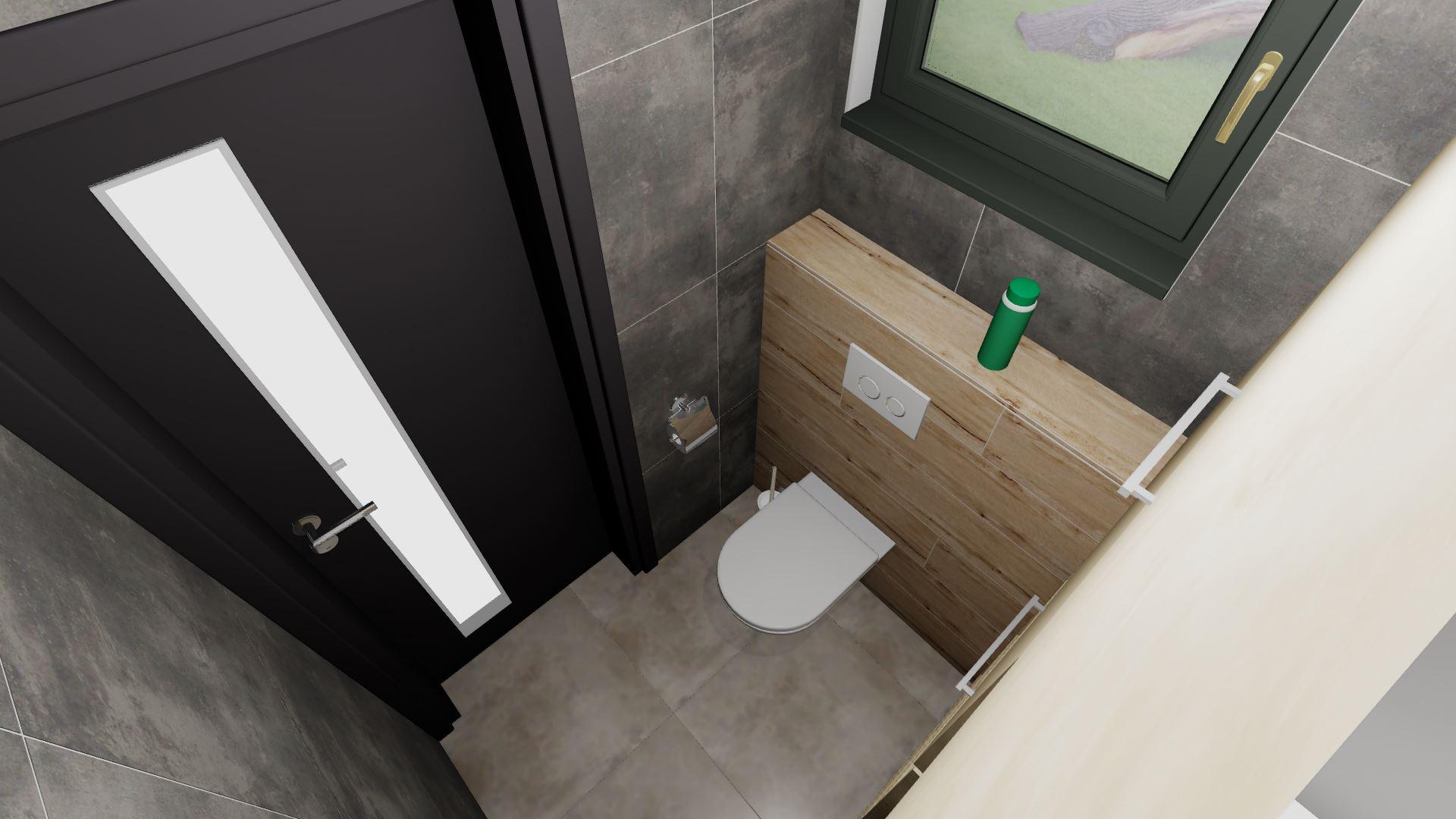 Komora/prádelna + soukromé WC rodičů - Obrázek č. 4