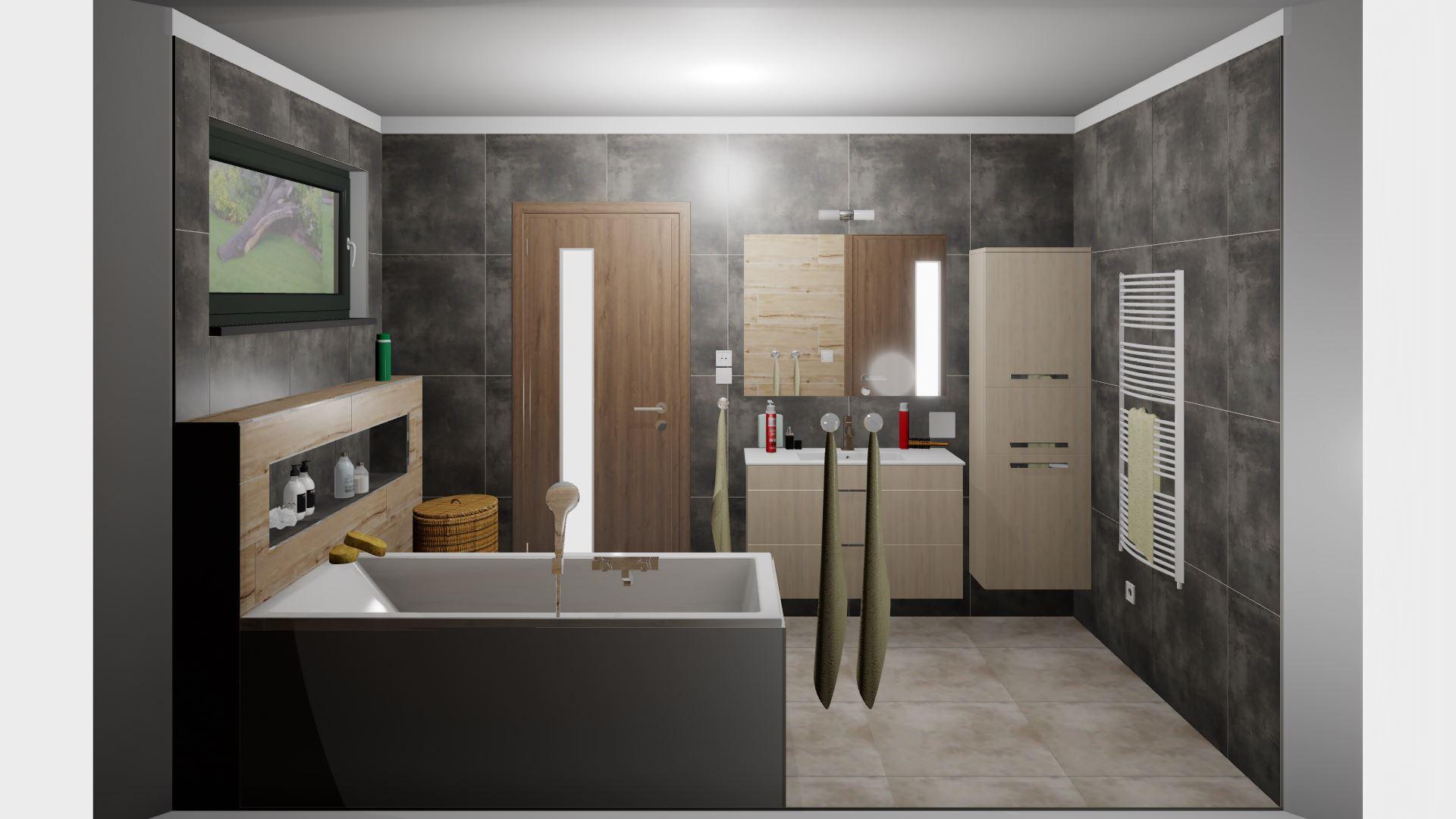 Rodičovská koupelna - Obrázek č. 1