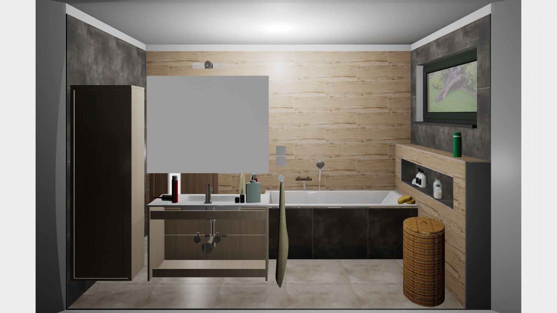 Rodičovská koupelna - Obrázek č. 2