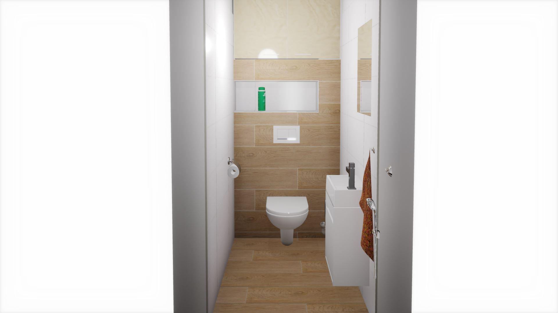 Dětská koupelna a přilehlé WC - Obrázek č. 7