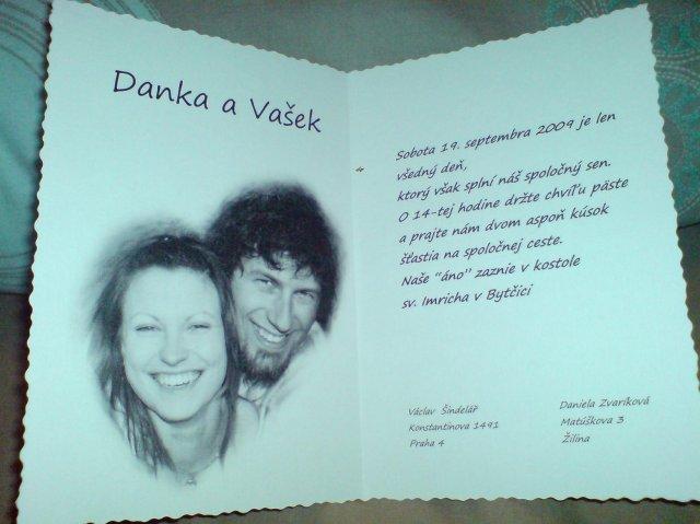 19.9.2009 Danka a Vasek - cele sme si ch robili sami....