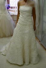 moje nové šaty -změna proběhla 1. měsíc před svatbou