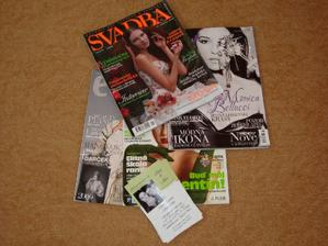 inšpirácie z časopisov + naše oznámko