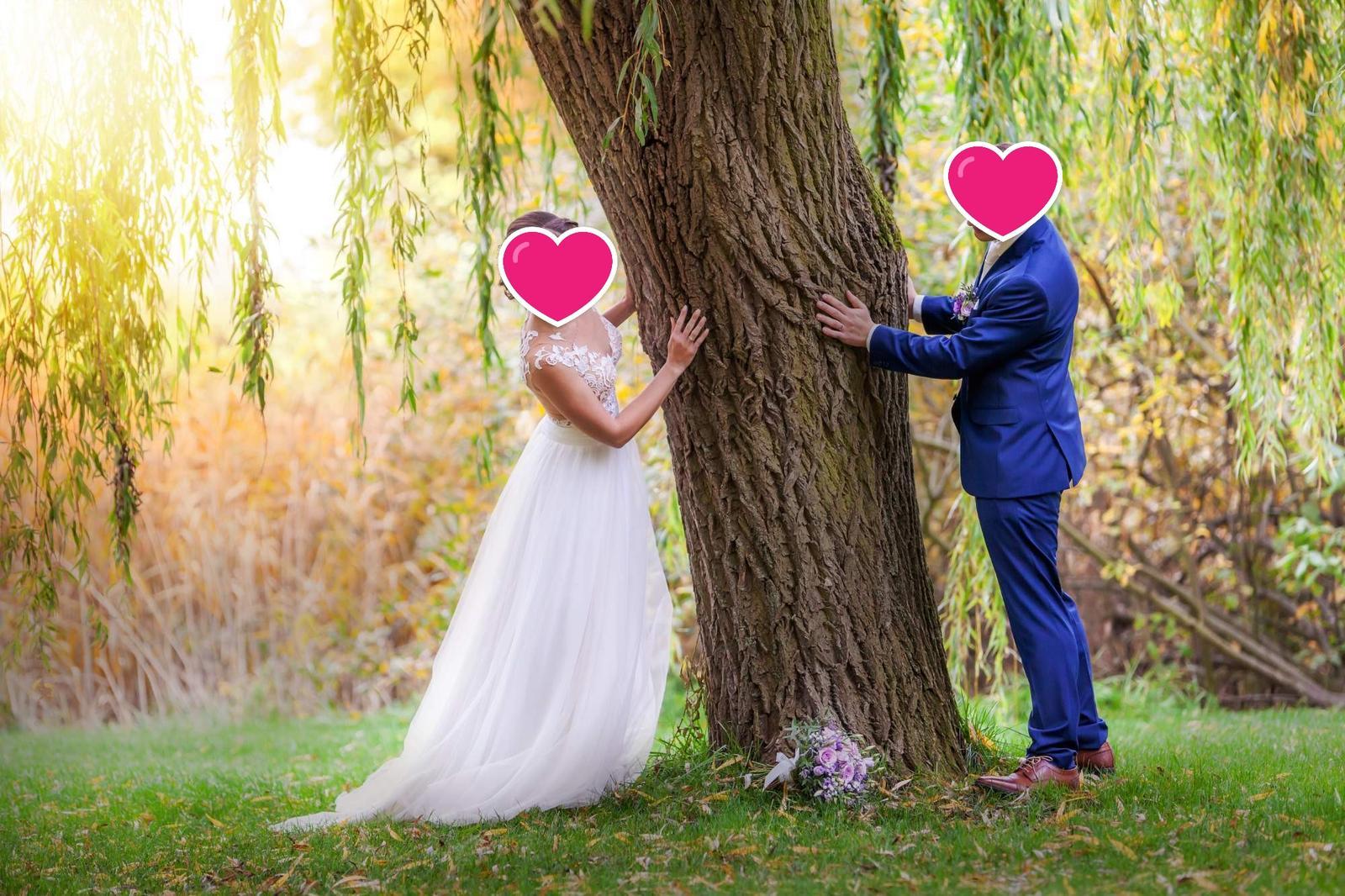 Svatební šaty, které z vás udělají vílu - Obrázek č. 1