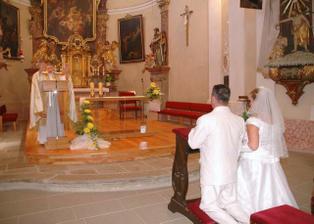 Brali jsme se v krásném kostele sv. Jana v Přibyslavi