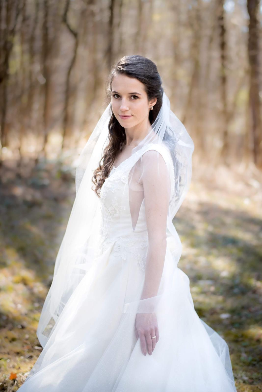 svadobné šaty veľ. 36 - Obrázok č. 3