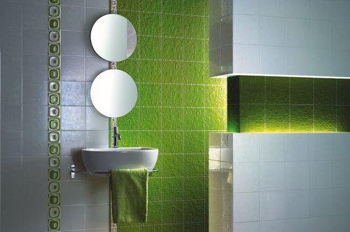 Zařízení Puškovorec - krasna zelena koupelna, nekomu jsem ji ukradla z alba, ale moc se mi libi