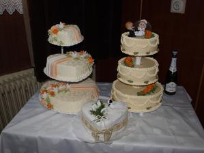 a naše krásne  tortičky:-)))