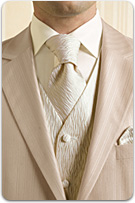pekná vesta z kravatou