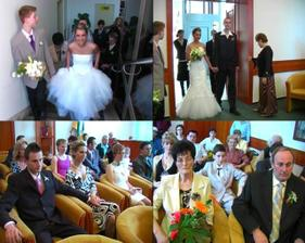 prišli sme trocha neskoro, ale keďže sme v ten deň boli jediná svadba, tak to zobrali v pohode