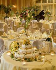 krásna svatební hostina