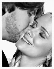 svatební polibek...?
