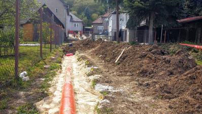 kanalizácia osadená