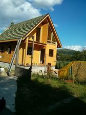 Druhý deň, západné priečelie, strecha, zateplenie strechy