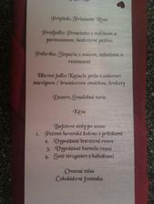 Naše menu...:D