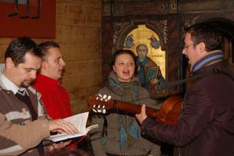 Zbor, ktorý nám spieval na obrade