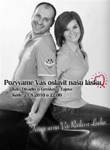 Renko a Lucka 21.8.2010 - pre priateľov