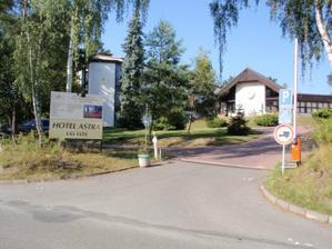 Hotel Astra - Srby ...zde se bude konat svatební obřad a hostina