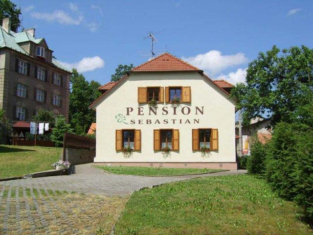 Eva Pražáková{{_AND_}}Libor Dvorský - pension Sebastian, kde jsme byli o svatební cestě ubytovaní