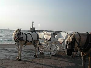 město Chania na Krétě