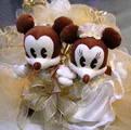 Misulka a Taho - Mickey a Minie, zlate na tortu