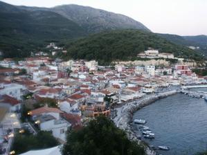 Naše svatební cesta - Řecko, městečko Parga