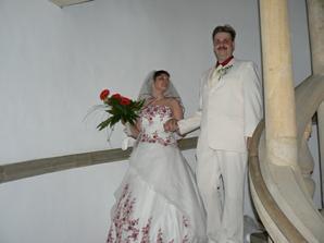 Foto na schodišti