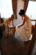 priprava nevesty :-)