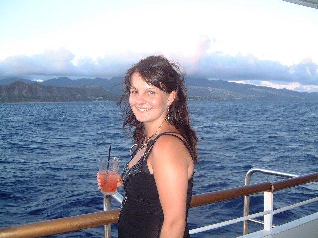 Emilia Timulakova{{_AND_}}Andy Simia - honeymoon na Hawaii