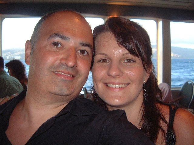 Emilia Timulakova{{_AND_}}Andy Simia - spolu na sunset dinner