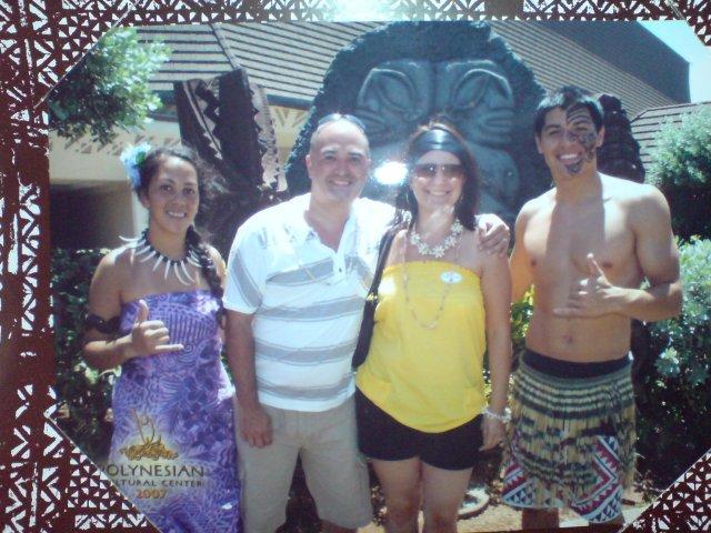 Emilia Timulakova{{_AND_}}Andy Simia - v Hawaii :-)
