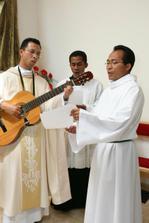 nasa indonezska kapelka v kostoliku