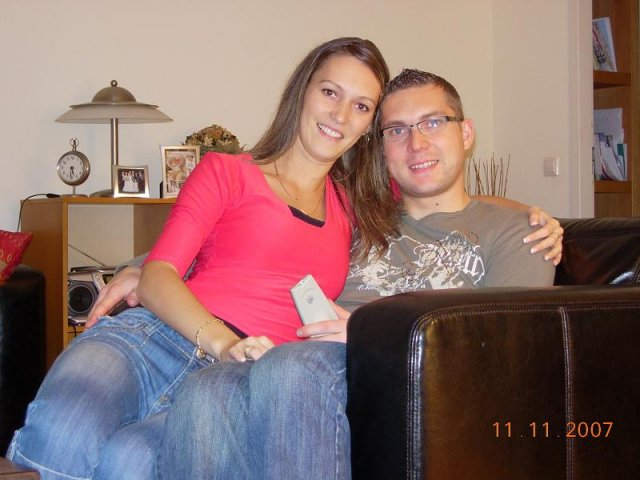 Erika a Martin 30.6.2007 - dvaja nedočkavci :)