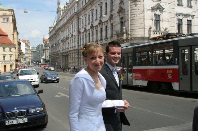Radka{{_AND_}}Michal - Na radnici jsme šli pěšky