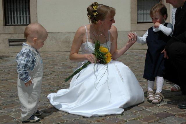 Radka{{_AND_}}Michal - Nejmladší účastníci naší svatby