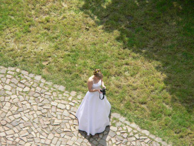 Radka{{_AND_}}Michal - Mého velkého koníčka jsem si nenechala vzít ani na svatbě :-) aneb nevěsta alá fotograf.