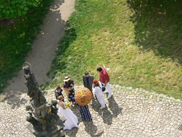 Radka{{_AND_}}Michal - Fotografie z Novoměstské věže od mojí kamarádky vypadají velmi zajímavě.