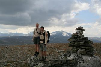 Jelikož musíme mít pořád něco extra, i naše svatební cesta byla tak trochu jiná... Norsko, srpen 2007