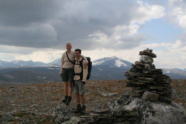 Radka{{_AND_}}Michal - Jelikož musíme mít pořád něco extra, i naše svatební cesta byla tak trochu jiná... Norsko, srpen 2007