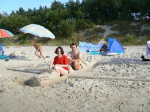 Jedna z mála spoločných fotiek (väčšinou jeden z nás drží foťák :-) ) - táto je z dovolenky 2006