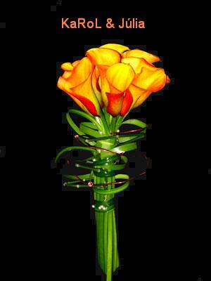 ♥ ORANGE ♥ - Toto sa mi veľmi páči... A celá foto farebne presne k našej svadbe :-) Kaly som na koniec nemala - to by bola iná pálka za kyticu :-) :-) :-)