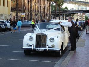 svadobne auto v Sydney
