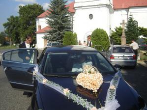 naše svadobné auto