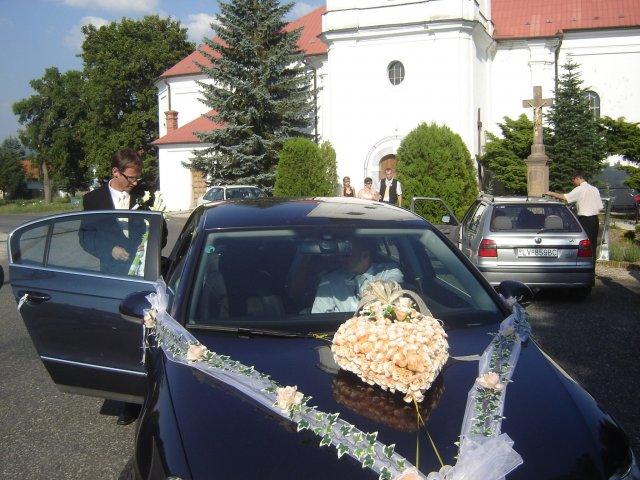 Silvia Krajčiová{{_AND_}}Daniel Kupča - naše svadobné auto