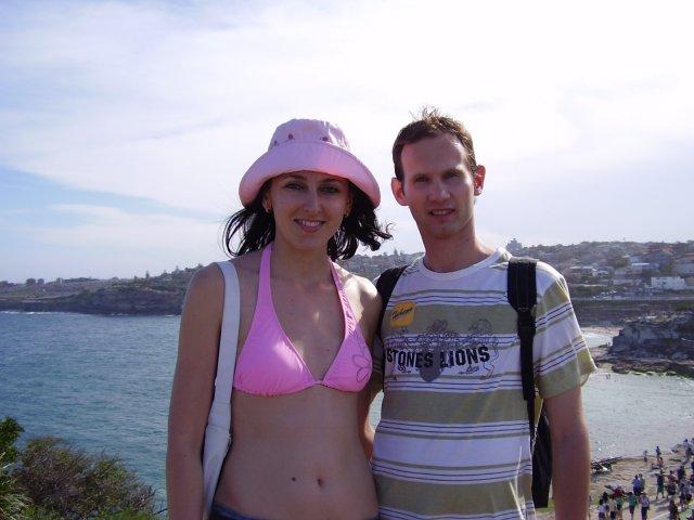 Silvia Krajčiová{{_AND_}}Daniel Kupča - Sydney Bondi beach