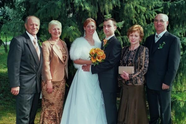 Linda Ballová{{_AND_}}Martin Fekete - S rodicmi